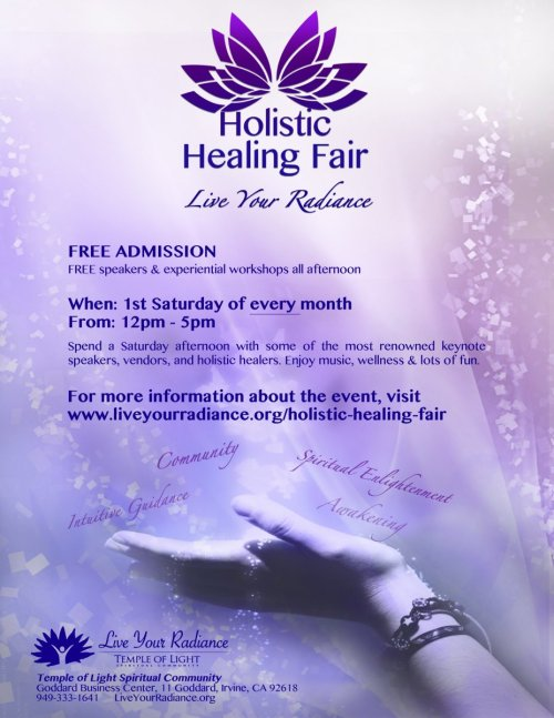 Hollistic Healing Flyer new printable